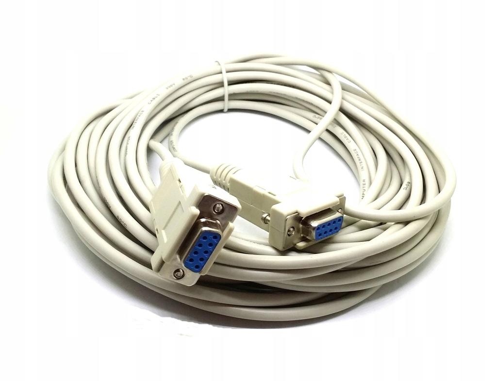 Przyłacze kabel null modem do programowania 3m