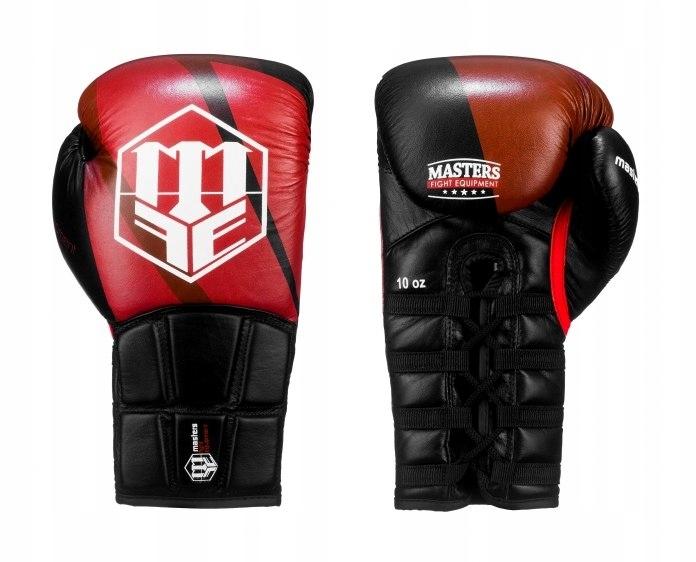 Rękawice bokserskie skórzane sznurowane RBT-SPARTA