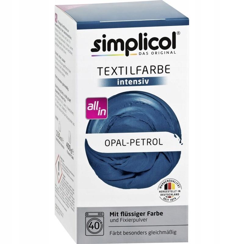 SIMPLICOL Barwnik do tkanin Opal Petrol