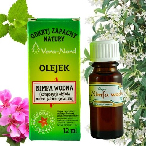 Olejek zapachowy 12 ml nimfa wodna