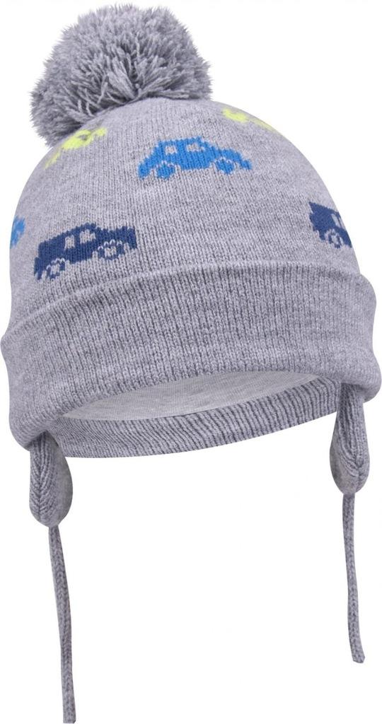czapka zimowa chłopczyk 38-40