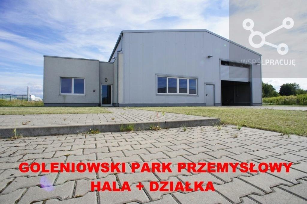 Magazyny i hale, Łozienica, Goleniów (gm.), 363 m²
