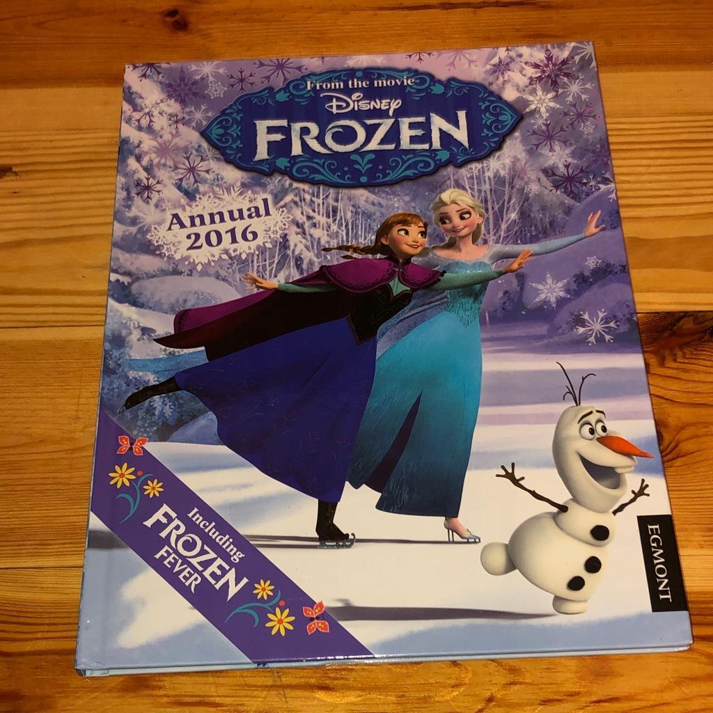 Ksiazka Angielska Kraina Lodu Frozen Duza Egmont 7700416469 Oficjalne Archiwum Allegro