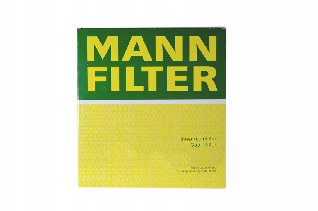 FILTR KABINY MANN MERCEDES SLK 200 163KM 120KW