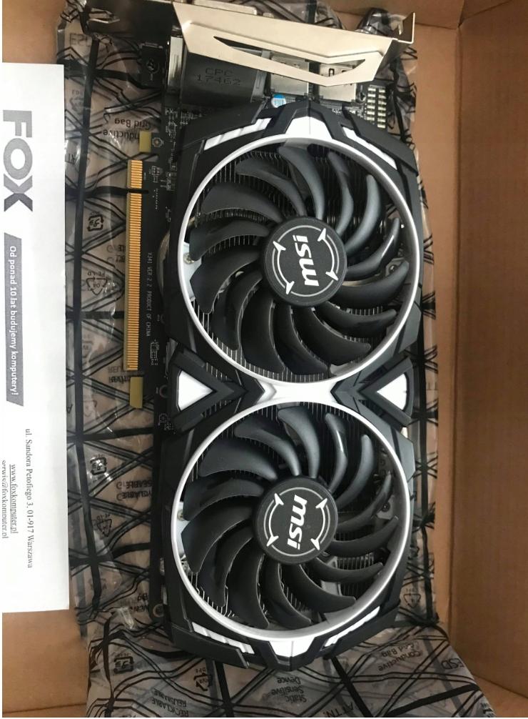 Obudowa koparki + RX 570 4GB + Risery