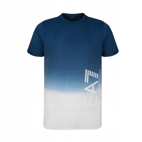 EMPORIO ARMANI koszulka męska niebieska E12 r.XXL
