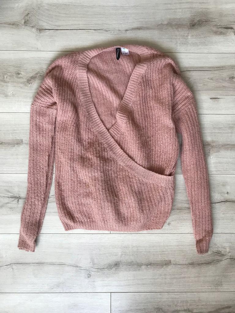 H&M__LUŹNY luksusowy sweterek __34 XS 36/38