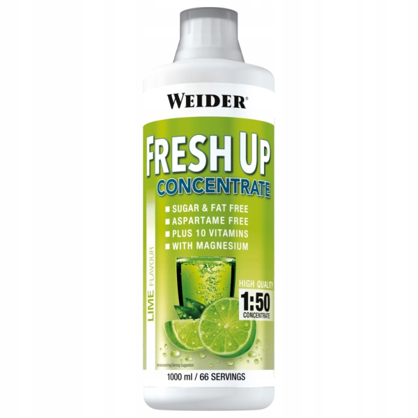 Weider Fresh Up Concentrate - 1000ml melon