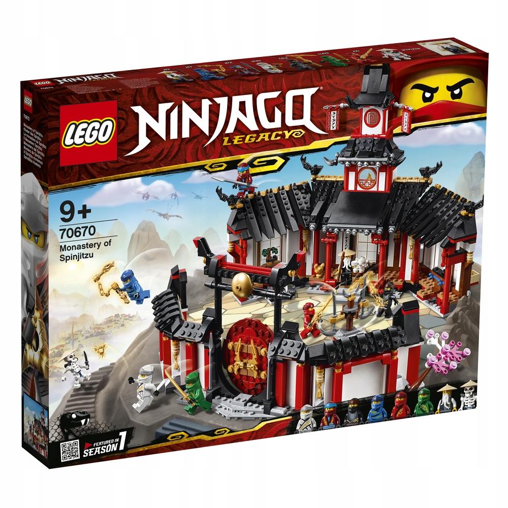 LEGO NINJAGO 70670 KLASZTOR SPINJITZU Klocki Outle