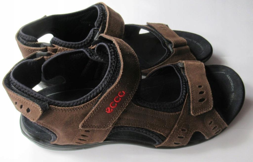 Sandały męskie ECCO, rozmiar 41 - wkładka 27 cm