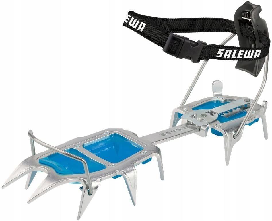 Salewa Alpinistyczny raki Step In szary /niebieski