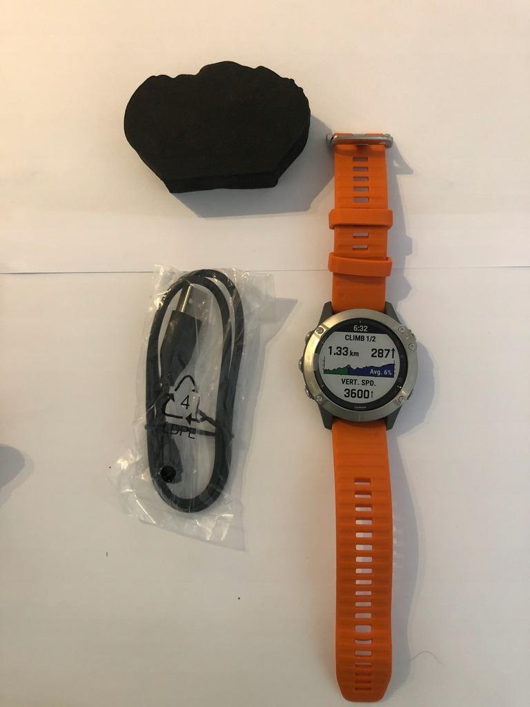 Smartwatch Garmin Fenix 6 Tytanowy