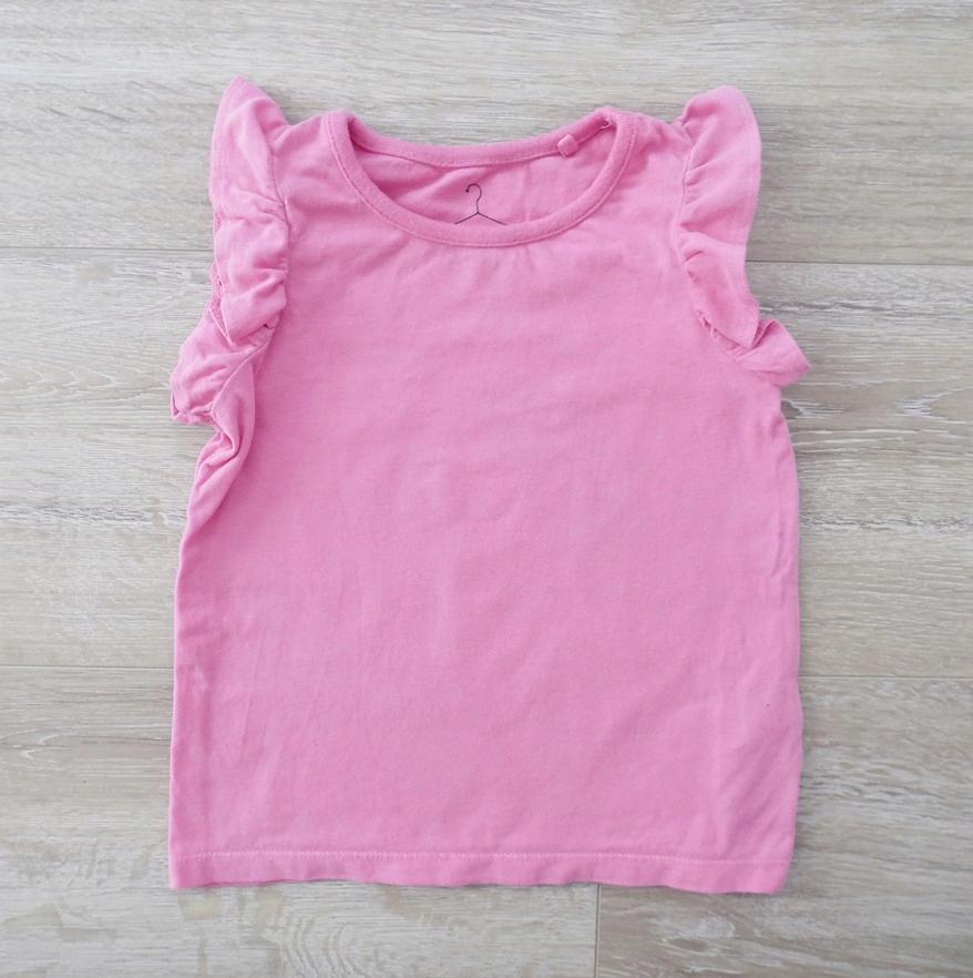 Next koszulka top 18-24m 92cm falbanki