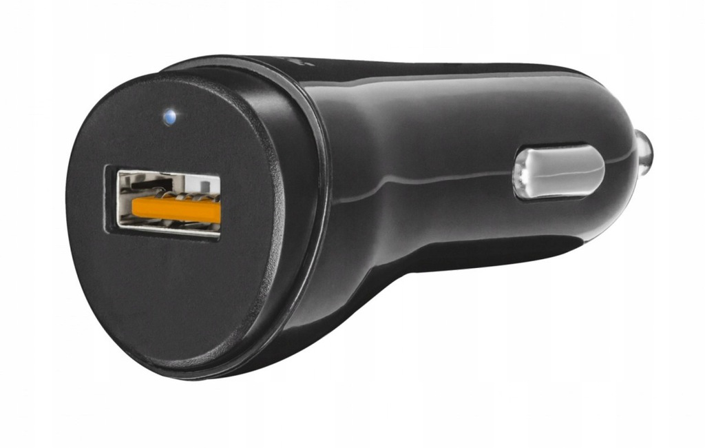 Ładowarka samochodowa z technologią QC3.0 i auto-d