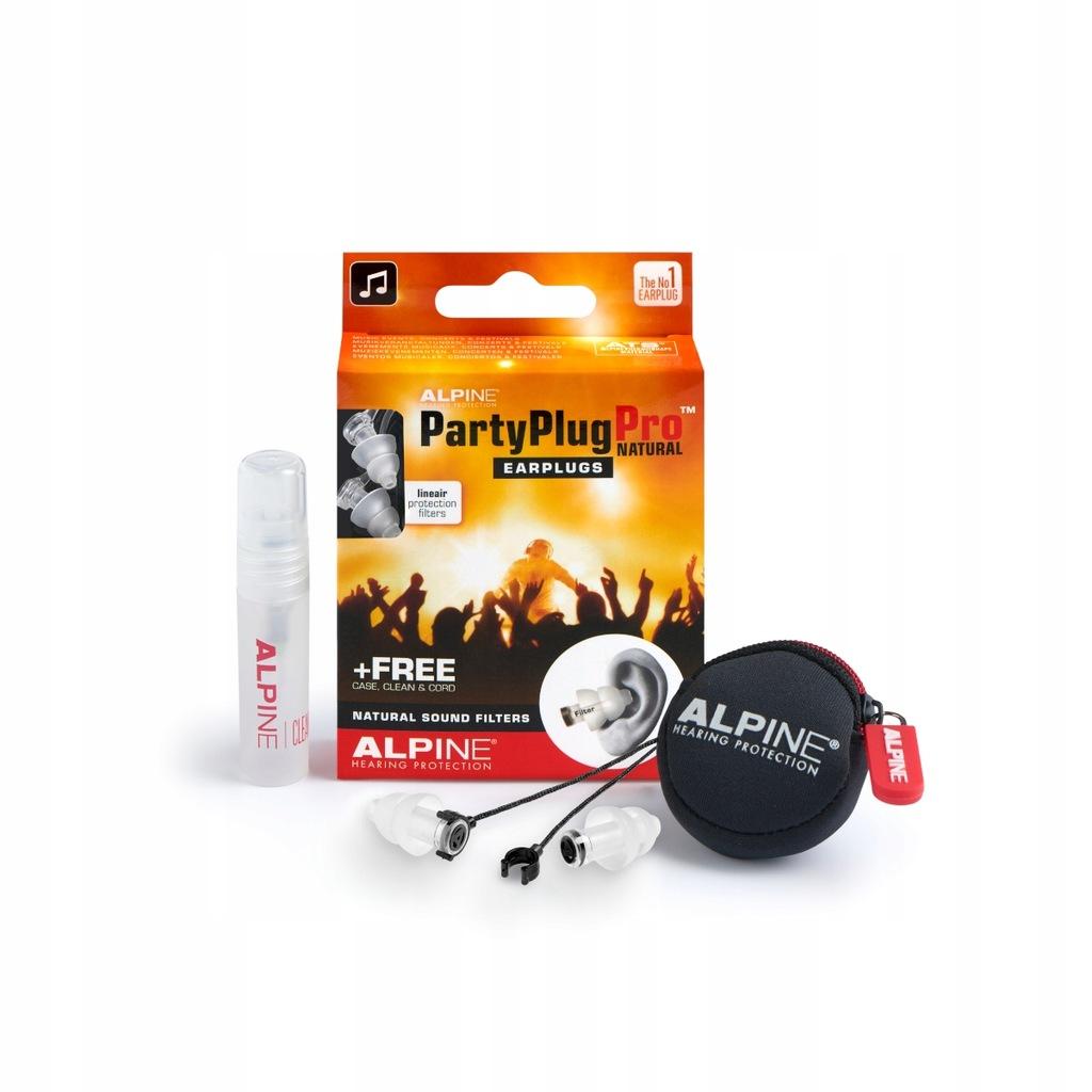 zatyczki na koncert do klubu Alpine PartyPlug Pro