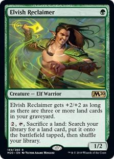 ELVISH RECLAIMER - Top Elf Warrior z M20