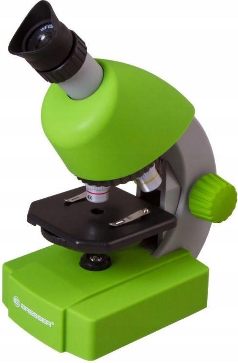 Mikroskop Bresser Junior 40x-640x szkolny zestaw