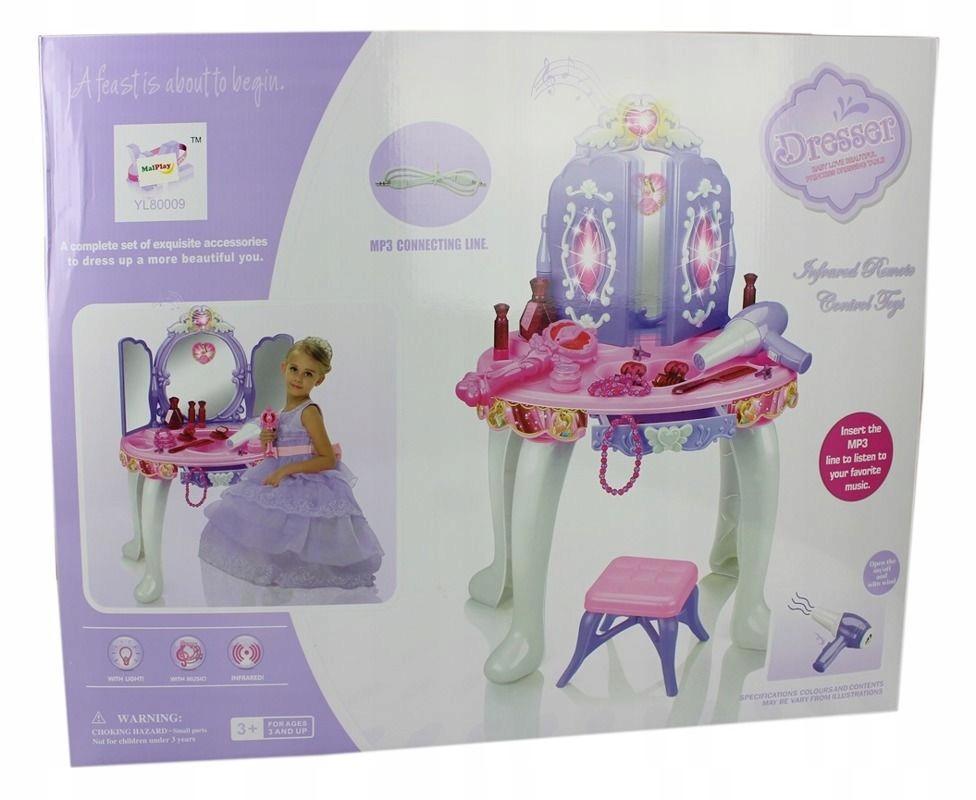 Toaletka małej księżniczki z magicznym lusterkiem