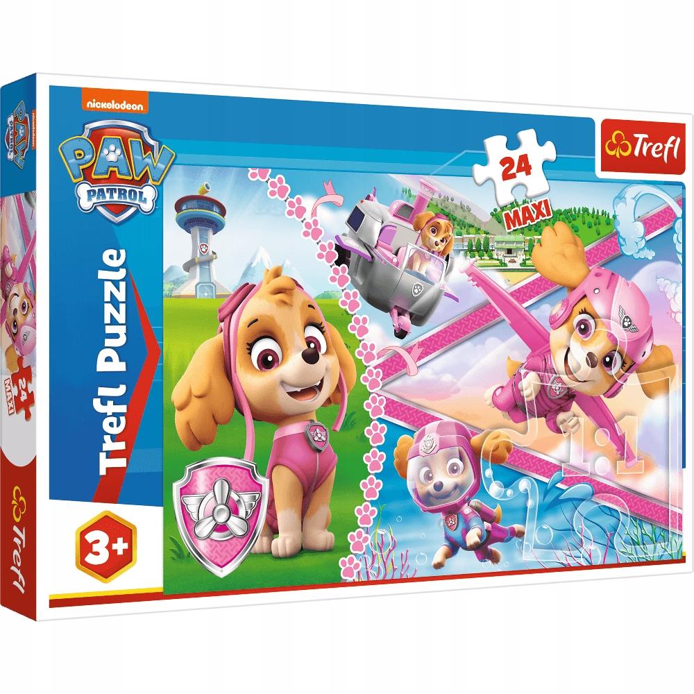 Puzzle 24 Maxi Bohaterska Skye Psi Patrol Trefl