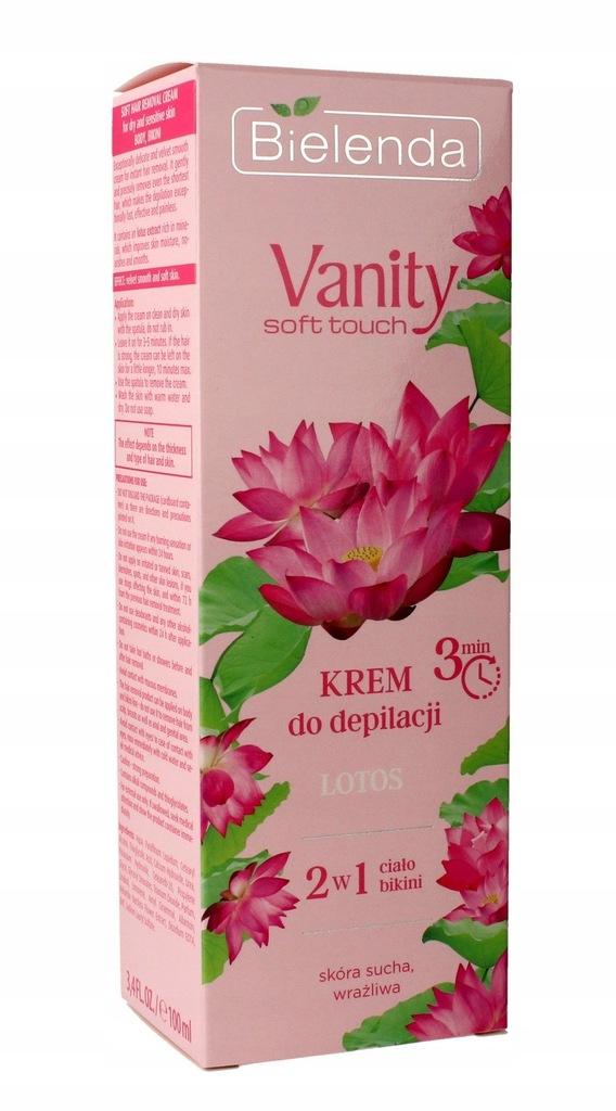 Bielenda Vanity Soft Krem Do Depilacji Lotos 100