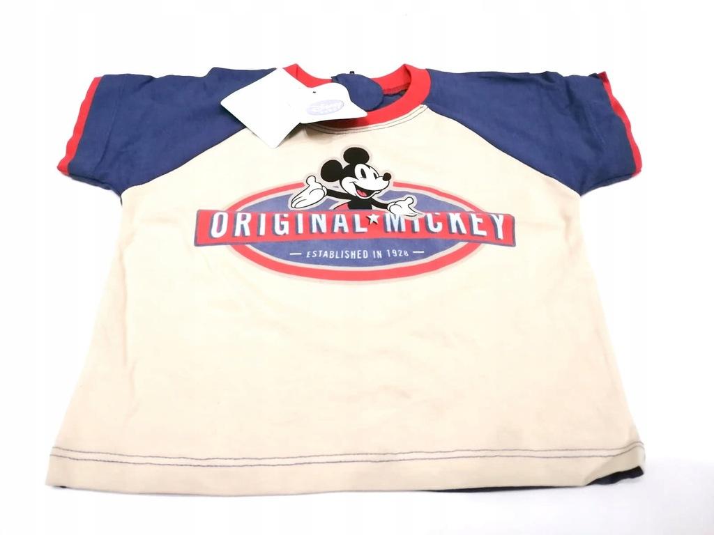 Bluzka dziecięca T-Shirt Mickey Mouse Disney 92