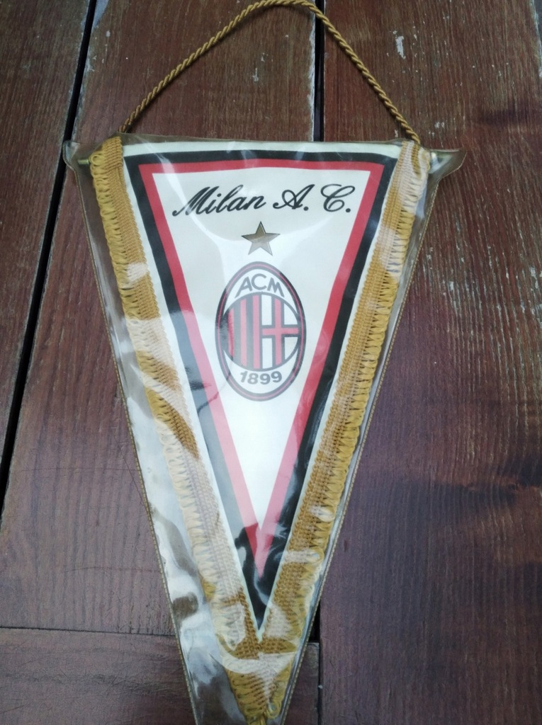 Oryginalny, oficjalny proporczyk AC Milan