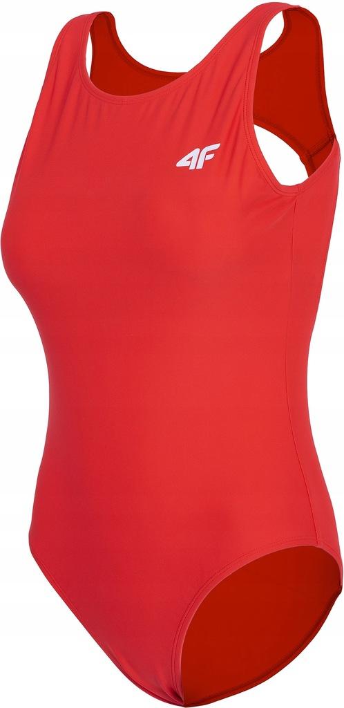 Strój kąpielowy 4F damski KOSP001 czerwony L