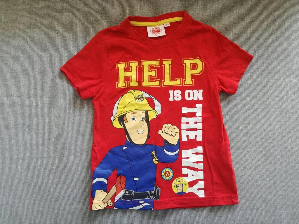 koszulka chłopięca Strażak Sam r. 92