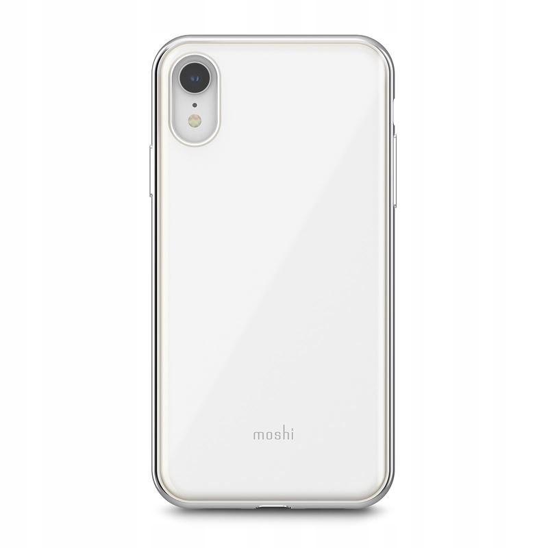 Moshi iGlaze - Etui iPhone XR (Pearl White)