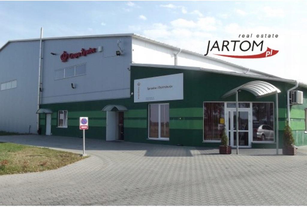 Magazyny i hale, Mieszki Wielkie, 3689 m²