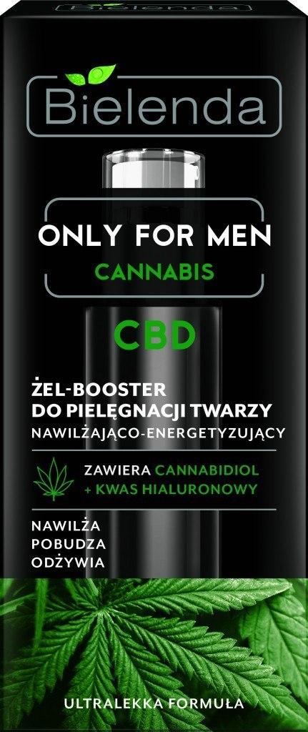 Bielenda Only for Men Cannabis CBD Żel-Booster do