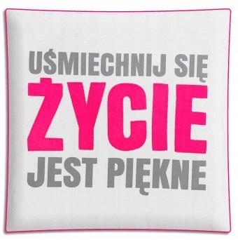 PODUSZKA GOOD IDEA ZYCIE JEST PIEKNE-PAN DRAGON