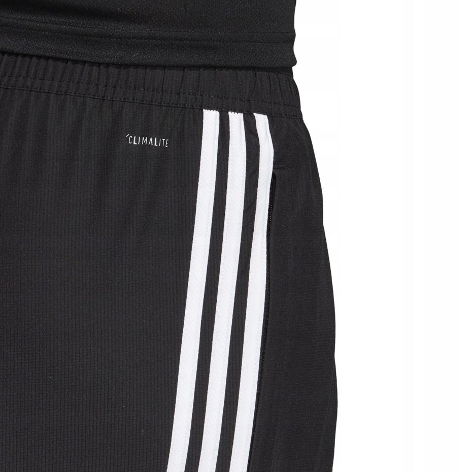 Adidas Spodnie Dresowe Woven Męskie Trzy Paski Zapinane Kieszenie D95951