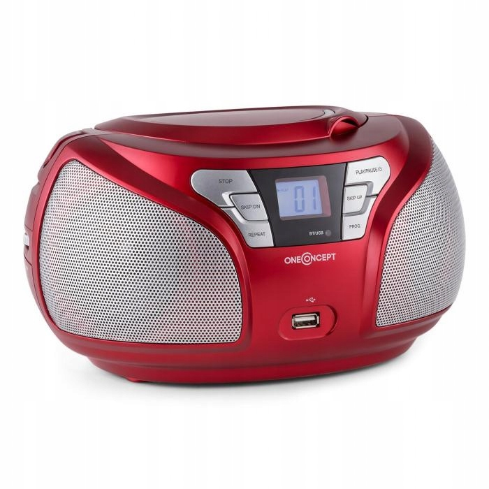 Boombox radio odtwarzacz Bluetooth FM AUX MP3