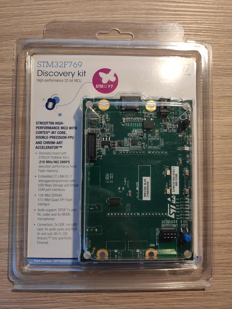 Zestaw Uruchomieniowy STM32F769I-DISC1 Cortex-M7