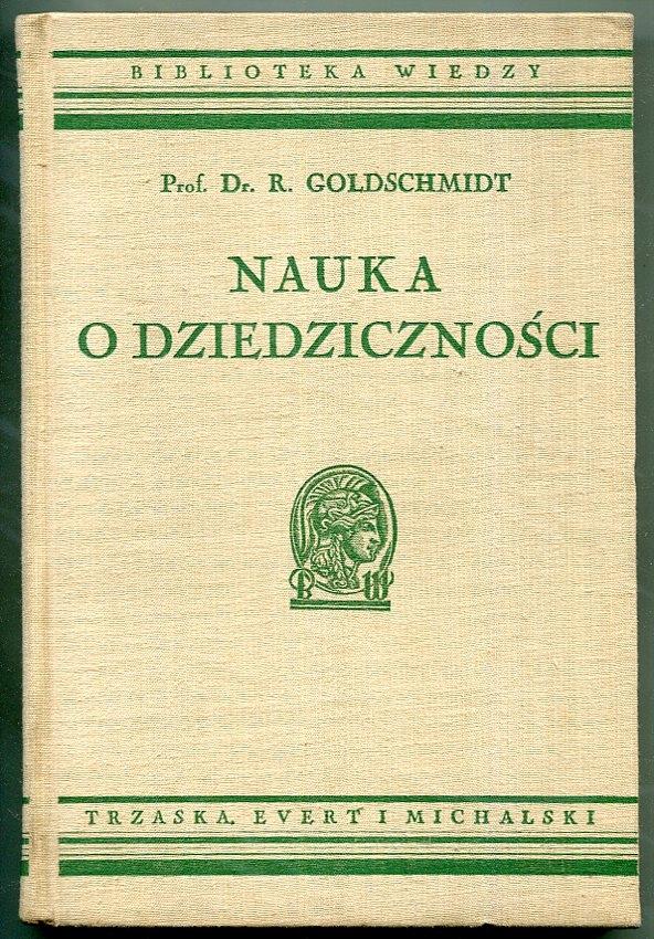 NAUKA O DZIEDZICZNOŚCI -- 1938 rok