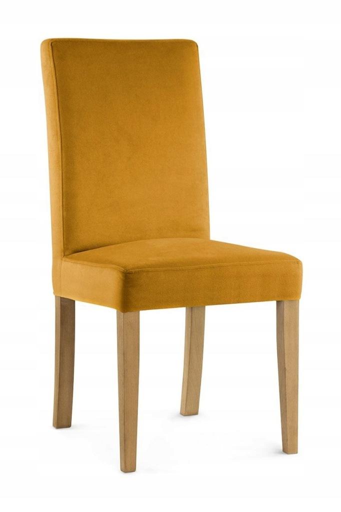 Krzesło WILLFORD miodowy/ noga dąb/ KR01