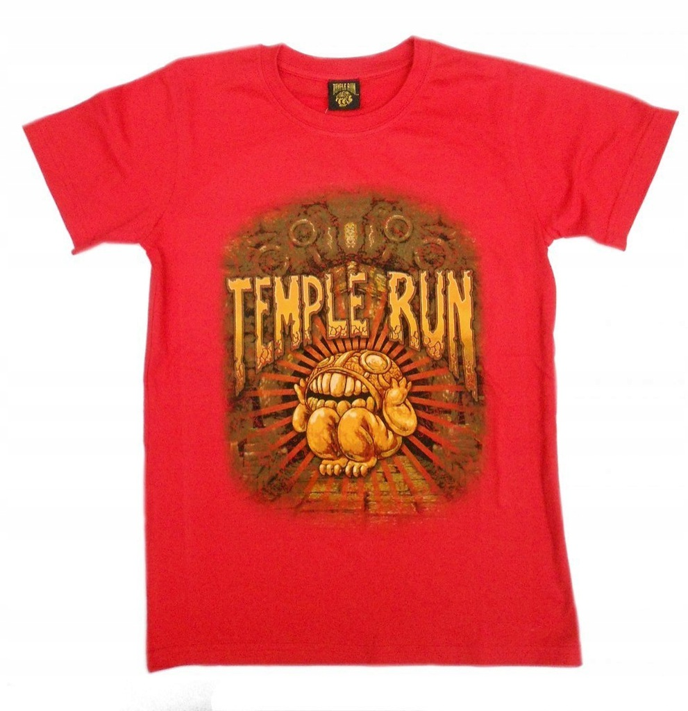 T-shirt Temple Run : Rozmiar: - 7/8
