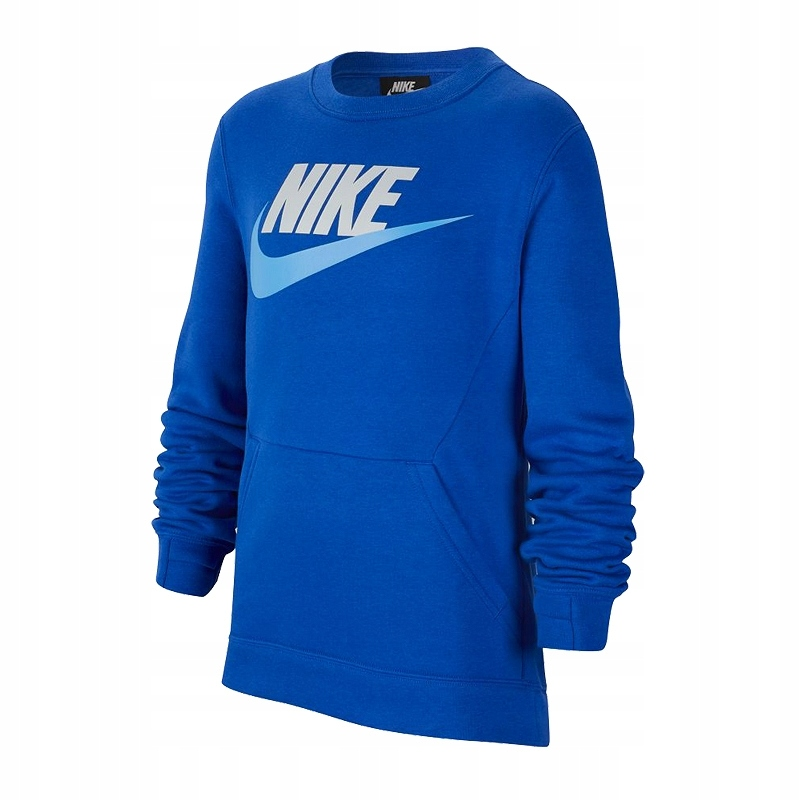 Bluza NIKE NSW Club Crew JR BV0785 480 164 cm