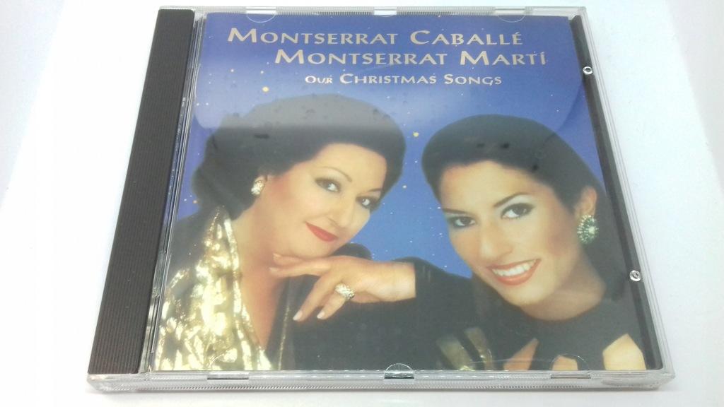 Montserrat Caballé Our Christmas Songs CD IDEALNY