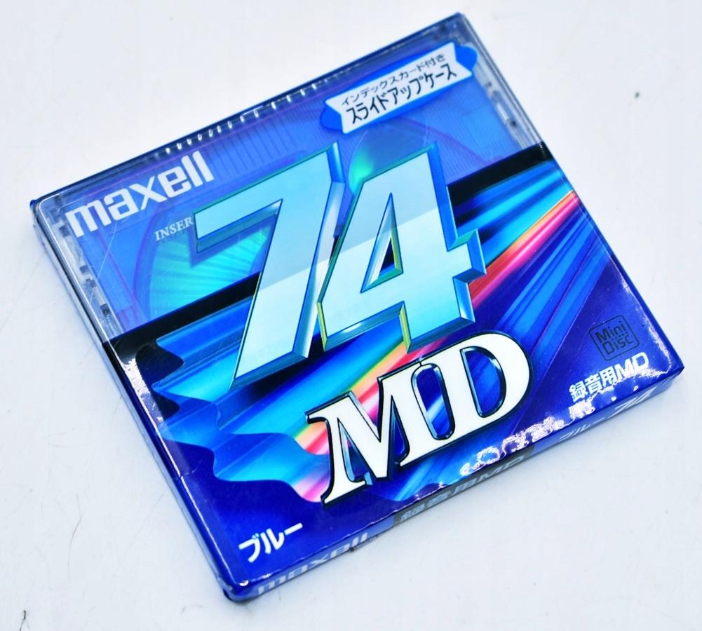 6254-8 ...MAXELL 74 MD... a#g PLYTA CD NOSNIK