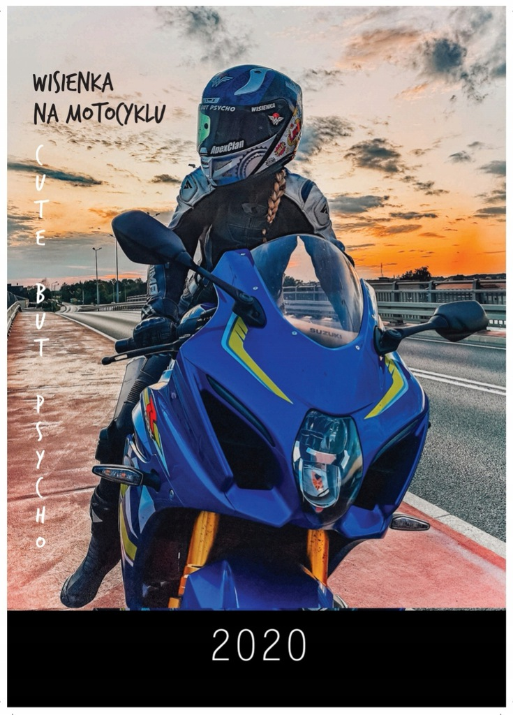 """Kalendarz z """"Wisienka na motocyklu """""""
