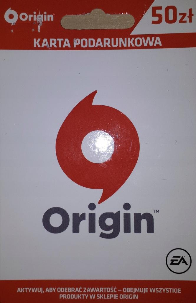 Origin 50 Zl Karta Podarunkowa Ea 9109207694 Oficjalne Archiwum Allegro