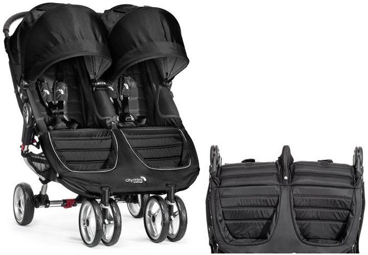 BABY Jogger Wózek CITY MINI DOUBL BLACK