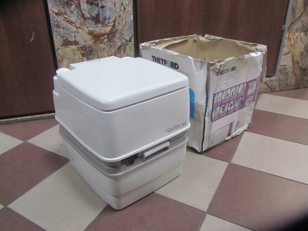 Toaleta Chemiczna THETFORD PortaPotti 365 Zobacz !