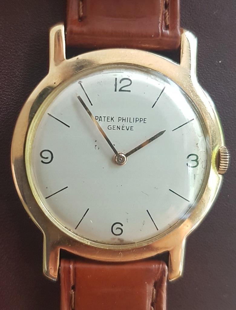 Złoty Patek Philippe 18k 32mm 2506/1 Vintage