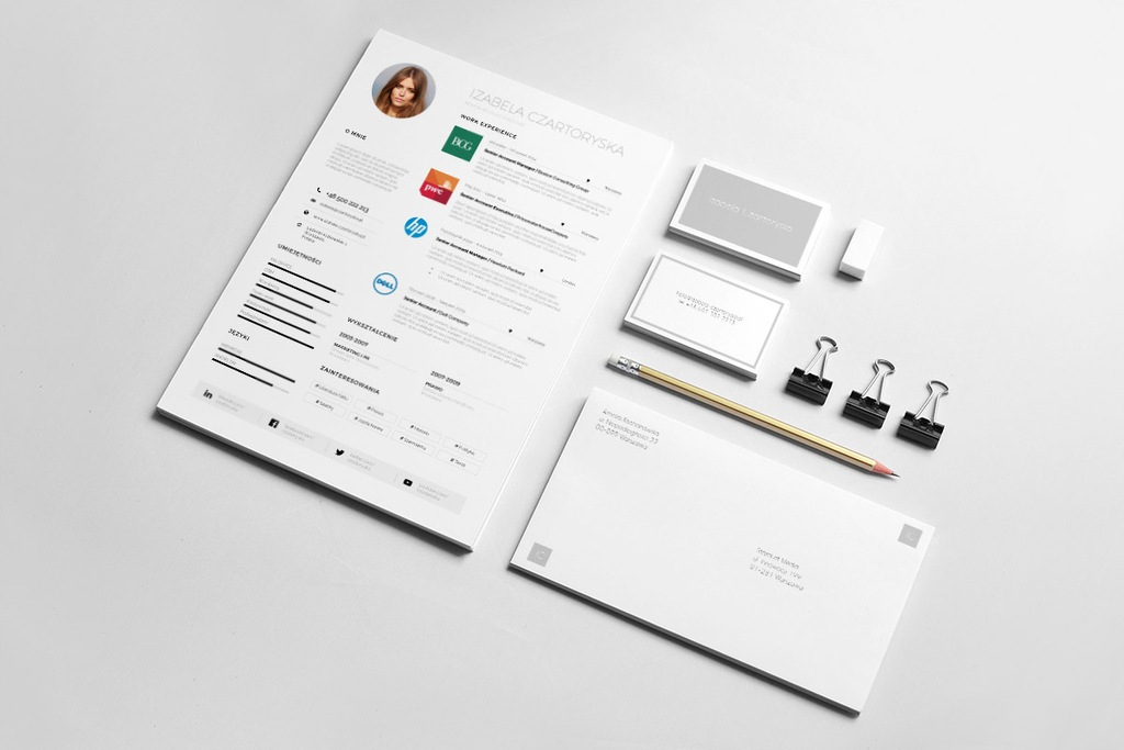 CV KORPORACYJNE | DESIGN CV | WORD | CORPORATE