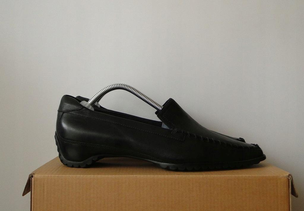 Buty ECCO Biom Elegance Leather Skorzane Black 36