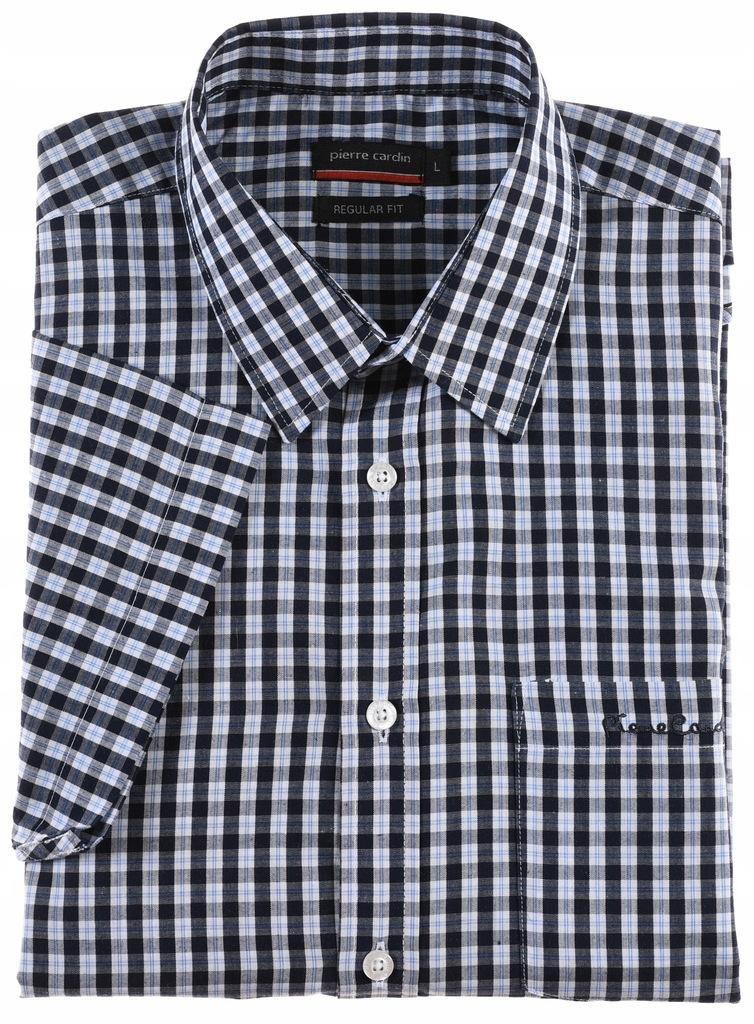 PIERRE CARDIN koszula z krótkim rękawem L k 41