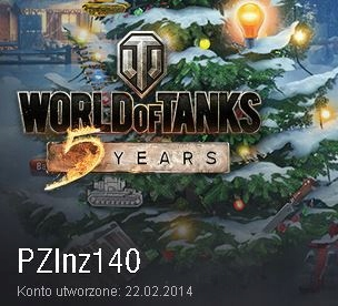 WOT World of Tanks w plutonie z/ pluton z PZInz140